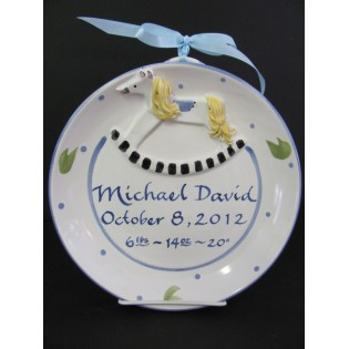 Birth Plate Small
