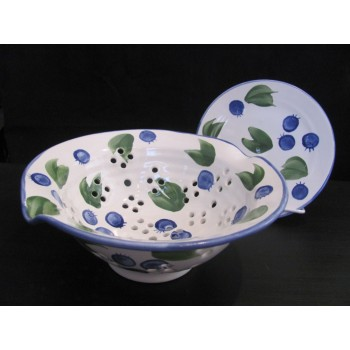 Colander with Drip Dish
