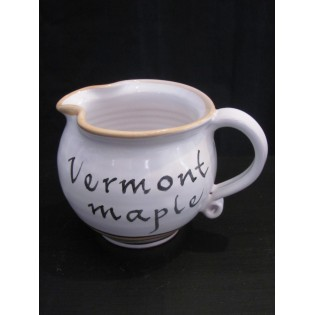 Vermont Maple Syrup Pitcher