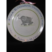 Birth Plate Large