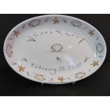 """Oval Serving Platter 16"""""""