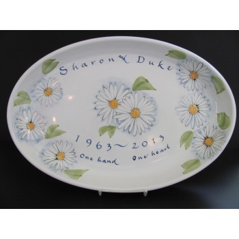 Daisy Large Oval Server