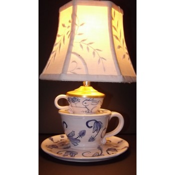 Tea Cup Lamp-2 Cup
