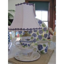 Tea Cup Lamp- 3 Cup