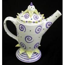 Sculptural Tea Pot