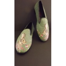 Needlepoint Shoes